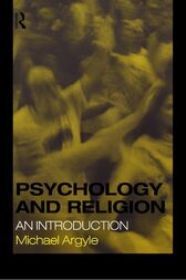 Psychology and Religion by Michael Argyle