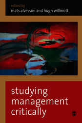 Studying Management Critically by Mats Alvesson