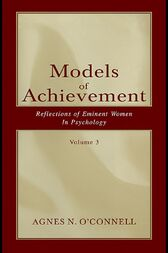 Models of Achievement by Agnes N. O'Connell
