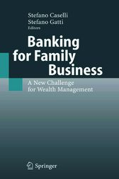 Banking for Family Business by Stefano Caselli