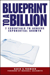 Blueprint to a Billion by David G. Thomson