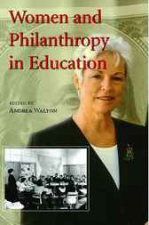 Women and Philanthropy in Education by Andrea Walton