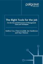 The Right Tools for the Job by Andrew Cox