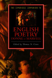 The Cambridge Companion to English Poetry, Donne to Marvell by Thomas N. Corns