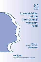 Accountability of the International Monetary Fund by Barry Carin