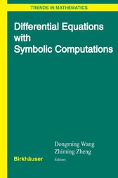 Differential Equations with Symbolic Computation by Dongming Wang