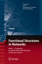 Functional Structures in Networks by Thomas Muth