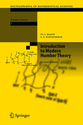 Introduction to Modern Number Theory by Yu. I. Manin