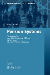 Pension Systems by Birgit Mattil