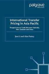 International Transfer Pricing in Asia Pacific by Alan Paisey