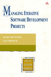 Managing Iterative Software Development Projects by Kurt Bittner