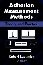 Adhesion Measurement Methods by Robert Lacombe