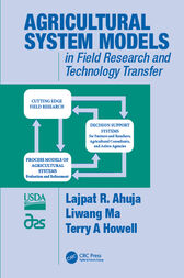 Agricultural System Models in Field Research and Technology Transfer by Lajpat R. Ahuja