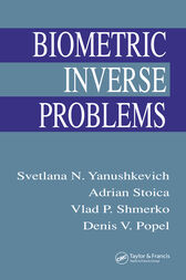 Biometric Inverse Problems by Svetlana N. Yanushkevich