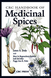 CRC Handbook of Medicinal Spices by James A. Duke