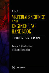 CRC Materials Science and Engineering Handbook, Third Edition by James F. Shackelford