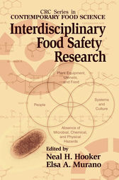 Interdisciplinary Food Safety Research by Neal H. Hooker