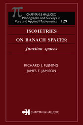 Isometries on Banach Spaces by Richard J. Fleming