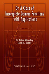 On a Class of Incomplete Gamma Functions with Applications by M. Aslam Chaudhry
