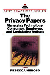 The Privacy Papers by Rebecca Herold