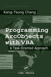 Programming ArcObjects with VBA by Kang-Tsung Chang