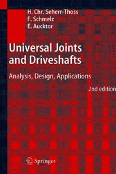 Universal Joints and Driveshafts by Hans-Christoph Seherr-Thoss