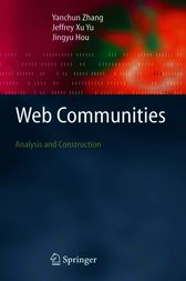 Web Communities by Yanchun Zhang