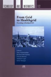 From Grid to Healthgrid by T. Solomonides