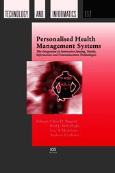 Personalised Health Management Systems by C. Nugent