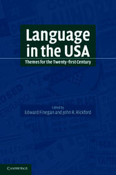 Language in the USA by Edward Finegan