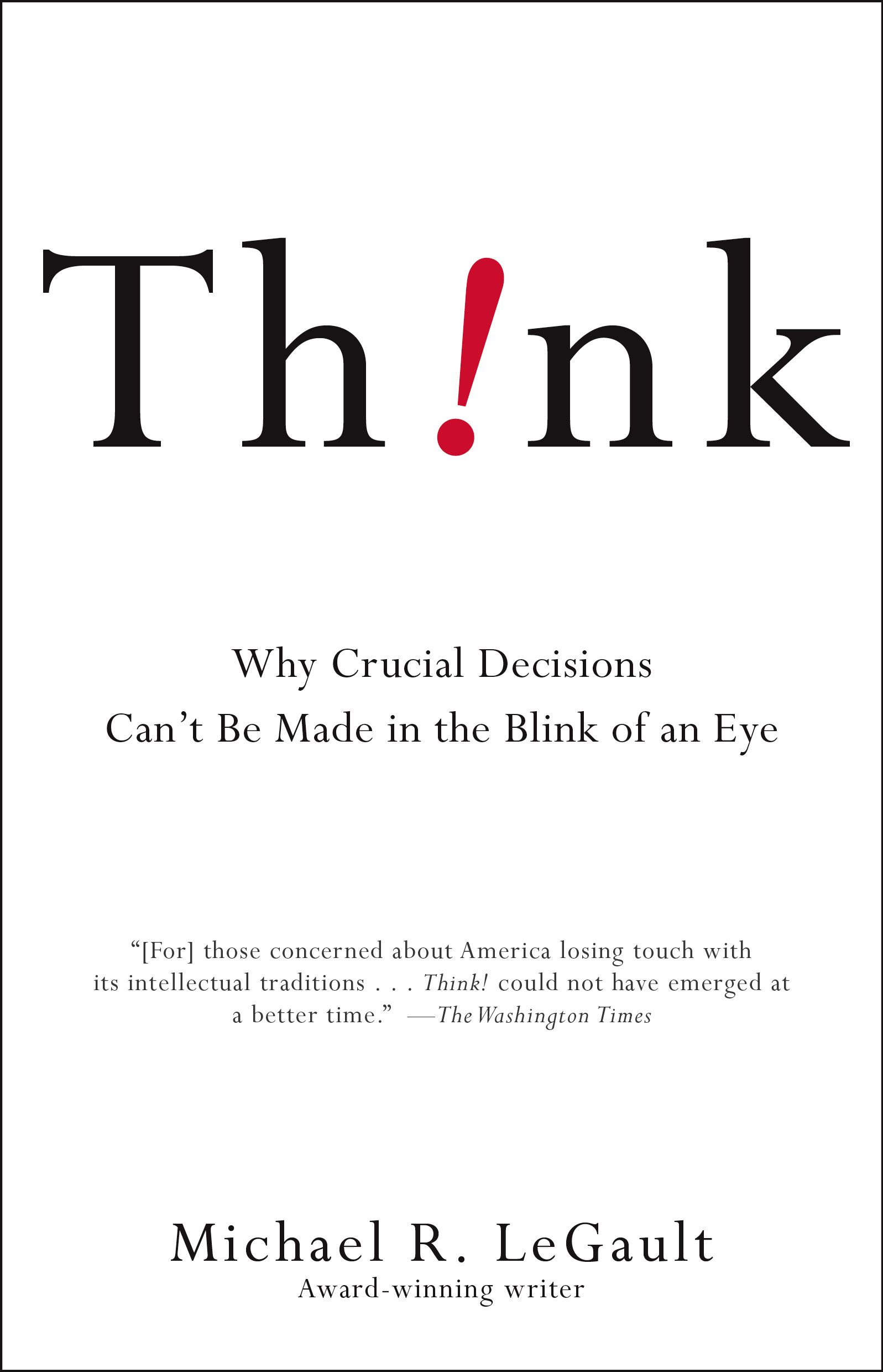 Download Ebook Think! by Michael R. LeGault Pdf