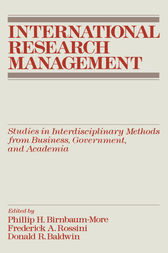 International Research Management by Philip H. Birnbaum
