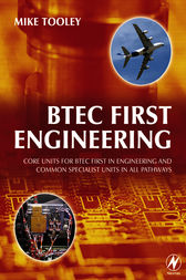 BTEC First Engineering by Mike Tooley