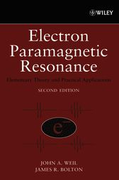 Electron Paramagnetic Resonance by John A. Weil