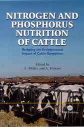 Nitrogen and Phosphorus Nutrition of Cattle by E. Pfeffer