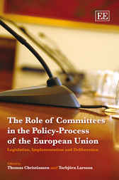 Download Ebook The Role of Committees in the Policy-Process of the European Union by T. Christiansen Pdf