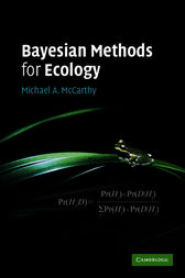 Bayesian Methods for Ecology by Michael A. McCarthy