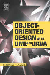 Object-Oriented Design with UML and Java by Kenneth Barclay