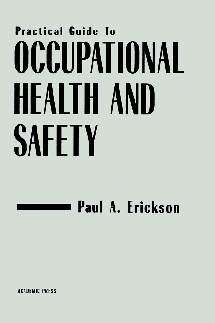Download Ebook Practical Guide to Occupational Health and Safety by Paul A. Erickson Pdf
