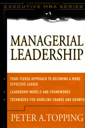 Managerial Leadership by Peter Topping