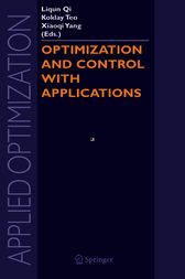 Optimization and Control with Applications by Liqun Qi