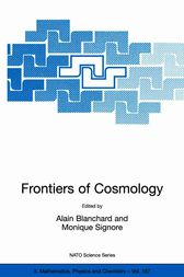 Frontiers of Cosmology by Alain Blanchard