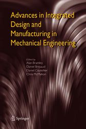 Advances in Integrated Design and Manufacturing in Mechanical Engineering by Alan Bramley