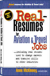Download Ebook Real-Resumes for Aviation & Travel Jobs by Anne McKinney Pdf