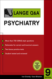 Lange Q&A Psychiatry, Ninth Edition by Ivan Oransky