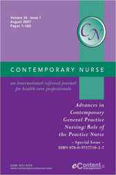 Advances in Contemporary General Practice Nursing by Patricia Davidson; Elizabeth Halcomb; Elizabeth Patterson