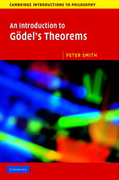 An Introduction to Gödel's Theorems by Peter Smith