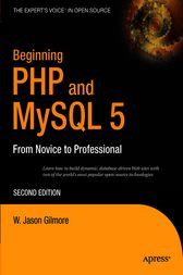 Beginning PHP and MySQL 5 by W Jason Gilmore