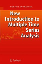 New Introduction to Multiple Time Series Analysis by Helmut Lütkepohl