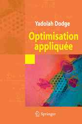 Optimisation appliquée by Yadolah Dodge
